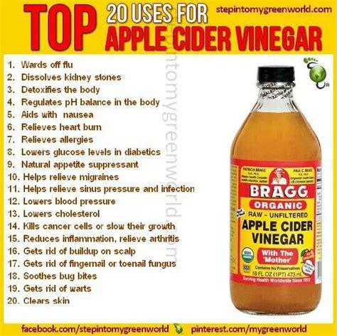 Apple Cider Vinegar Detox Headache by 25 Best Ideas About Braggs Apple Cider Vinegar On