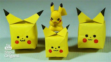 Pikachu Origami Advanced - pikachu origami advanced image collections craft