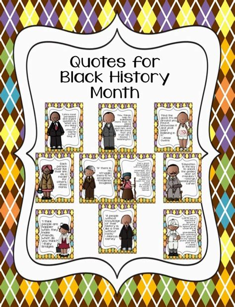 Printable Black History Poster | pics for gt black history month posters printable