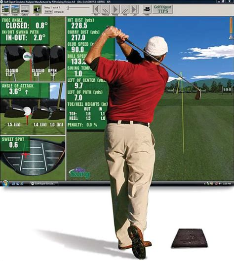 P3proswing Virtual Golf Simulator A Must Have For Golf