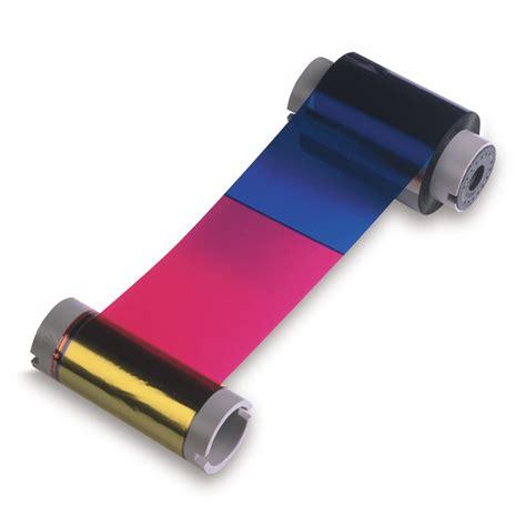 Printer Ribbon Fargo 45200 Colour Printer Ribbon Dtc4500 Store Groove Identification