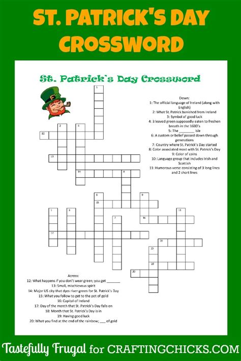 st s day dltk st patricks day puzzles for adults