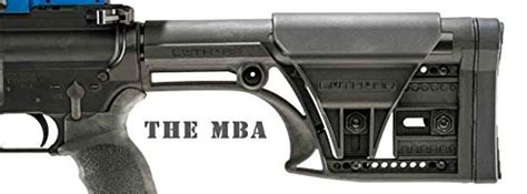 Mba In Stock Market Usa by Luth Ar Mba 1 Quot Mba Quot Black Fixed Stock Buttstock A1 A2