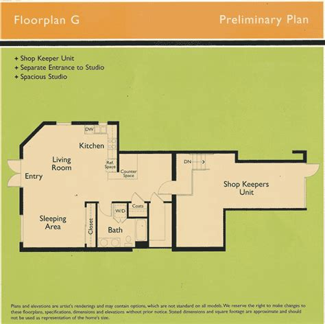 Floor Plan Elements by Element Floor Plan G