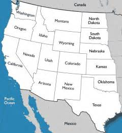 western united states map reading worksheet geography