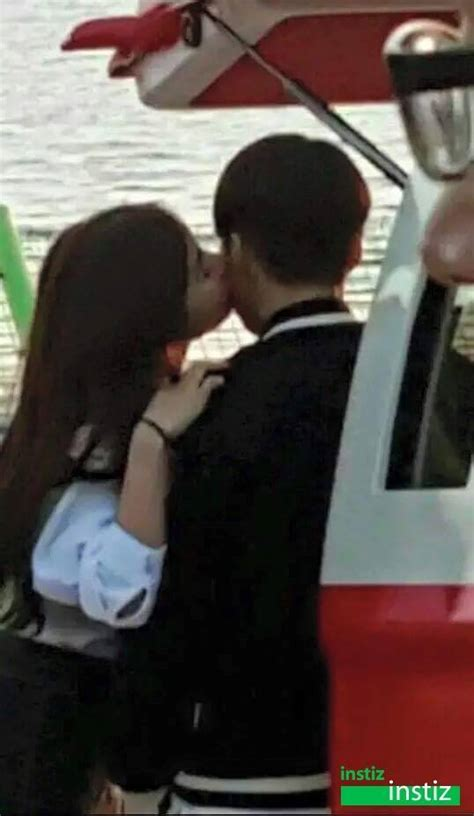 exo kiss scene exo xiumin s kiss scene in quot falling for challenge quot leaked