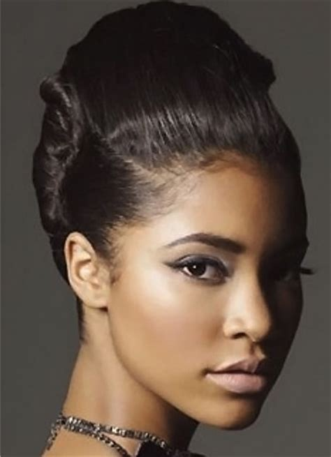 types of updo hairstyles with bangs african amer 15 ebony girls hairstyles that you should definitely try