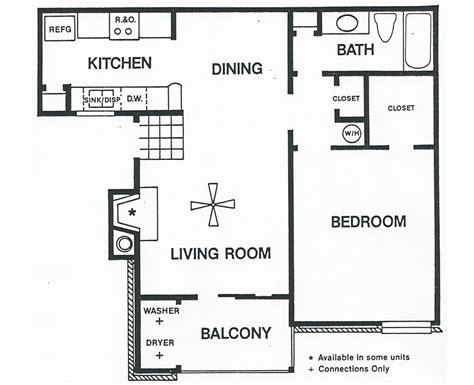 bedroom floor plans one bedroom floor plans plan c sundance apartments
