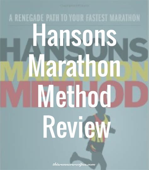 Pdf Hansons Marathon Method Your Fastest by Hansons Marathon Method A Renegade Path To Your Fastest