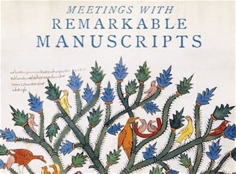 meetings with remarkable manuscripts dateline bangkok meetings with remarkable manuscripts
