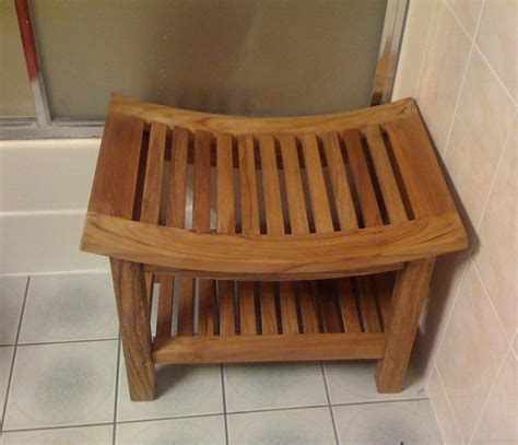 outdoor shower bench curved shower bench