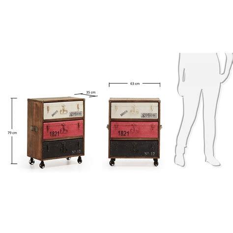 mobiletto cassetti mobiletto a cassetti valigia 1009 mariotti casa