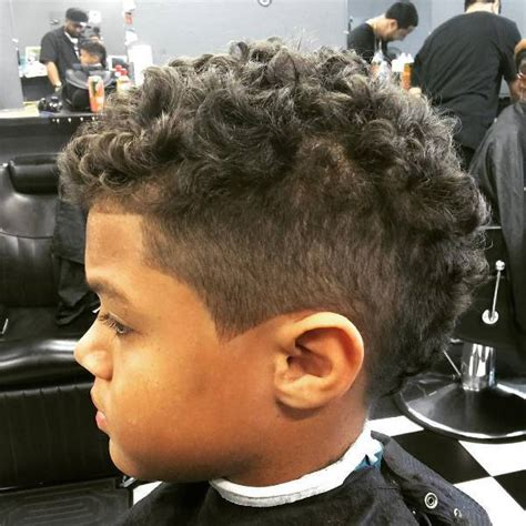 faid with curls on toodler mohawk haircuts for curly hair haircuts models ideas