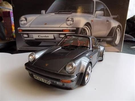 porsche 911 turbo 1988 1/24 building step by step youtube