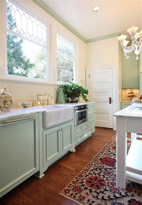 Mint Green Kitchen Curtains Decorating 17 Best Ideas About Mint Green Kitchen On Pinterest Mint Kitchen Pastel Kitchen Decor And