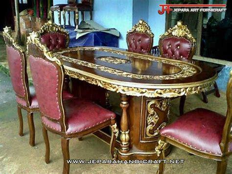 Meja Makan Ganesha jual meja kursi makan jati ukir ganesha murah