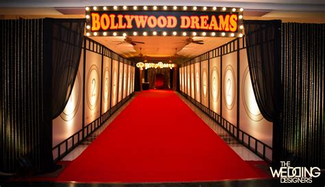 themes in indian film design your dream wedding bollywood in wedding decor