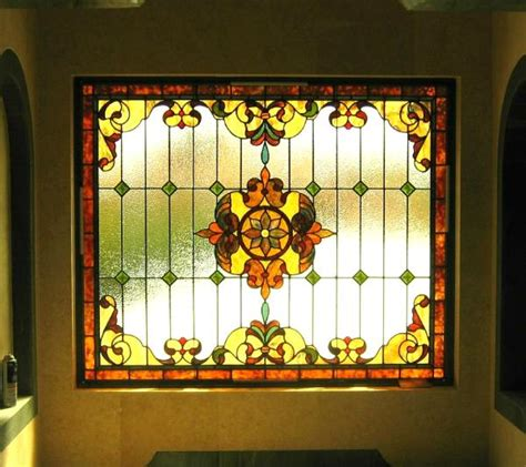 Traditional Home Interior Traditional Stained Glass Windows Reflective Collections