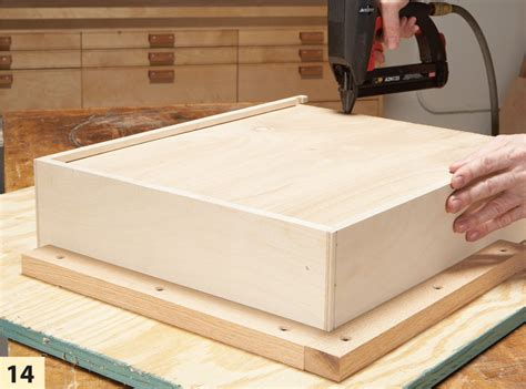 Make A Drawer Box by American Woodworking Tools Free Wood Truck Woodworking