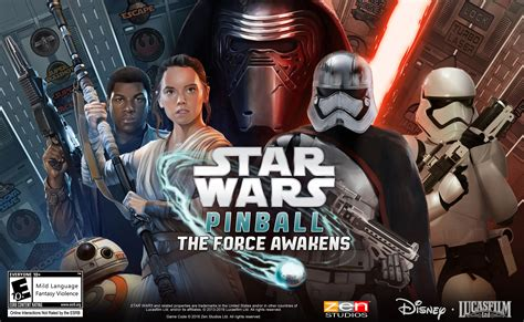 star wars the force use the force in the star wars pinball the force awakens pack from zen studios zen studios