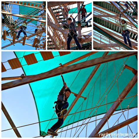 the line challenge bridge caverns canopy challenge zip lines new