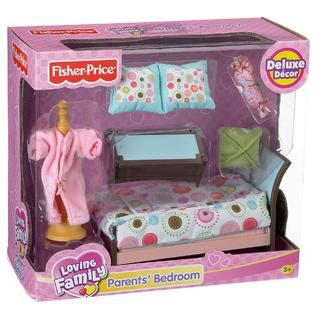 loving family deluxe parent s bedroom toys