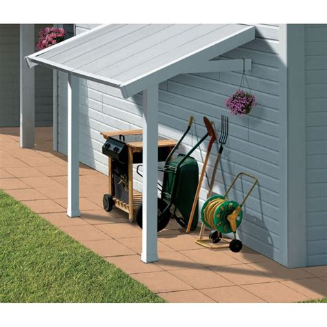 grosfillex abri de jardin pvc auvent pour abri de jardin en pvc grosfillex
