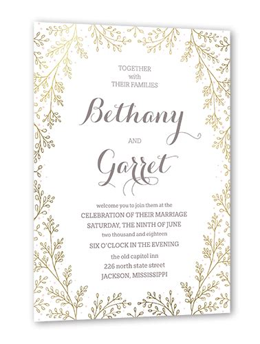 one liner quotes on wedding invitation