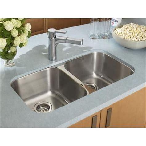 Undermount Kitchen Sinks Canada Blanco Homestyle 2 0 Undermount Stainless Steel Sink 400742 Home Depot Canada 279 The