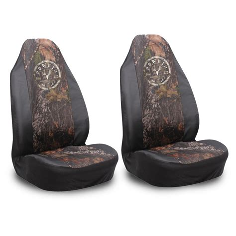 browning universal seat cover 2 pk browning 174 spandex universal seat covers