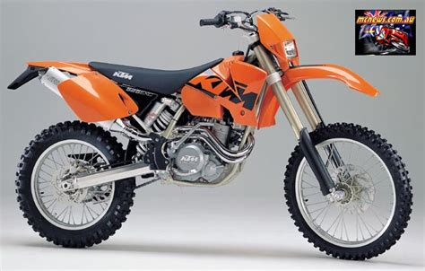2004 Ktm 525 Exc Review Images For Gt Ktm 525 Sx