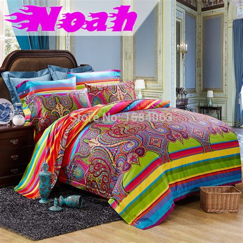 bohemian bed set luxury egyptian cotton renaissance florence school