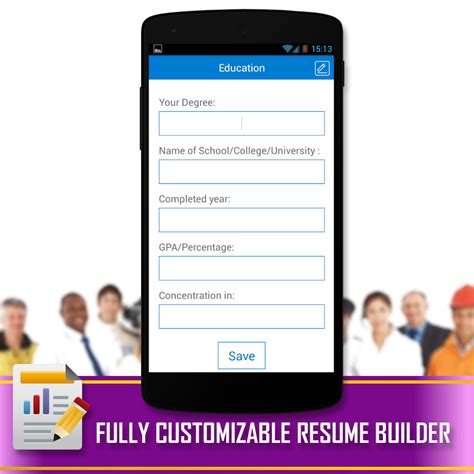 resume builder app for android resume builder android apps on play