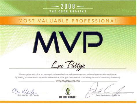 mvp certificate template pin mvp award certificate templates free on