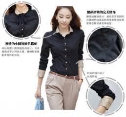 Kemeja Wanitahem Momon Black seperti apa model baju kerja wanita 2016 temukan jawabannya disini info tren baju terbaru di