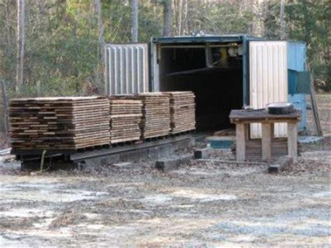 huge   wood drying kiln plans
