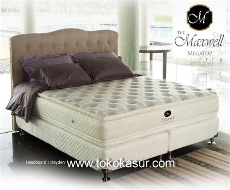 Quantum Megatop 160x200 Springbed Set quantum maxwell megatop 30 cm toko kasur bed
