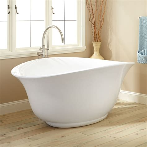 Freestanding Tub Boyce Acrylic Freestanding Tub Bathtubs Bathroom