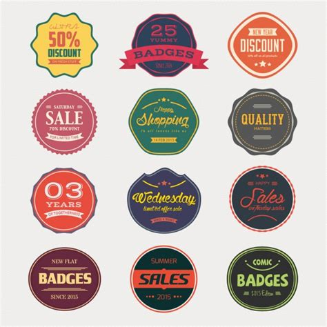 badges for sale sale badges collection psd file free