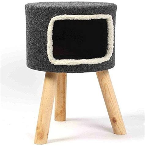 Cat Stool by Grey Felt Cat Stool House Lowest Prices Guaranteed