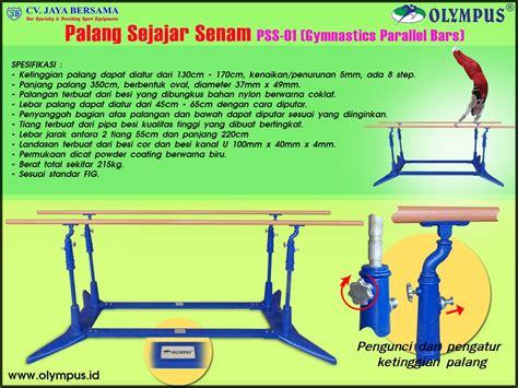 Meja Pingpong Merk Olympus palang sejajar senam pss 01 gymnastics parallel bars cv jaya bersama