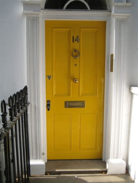 Yellow Front Door Yellow Door Diy Outdoor Ideas