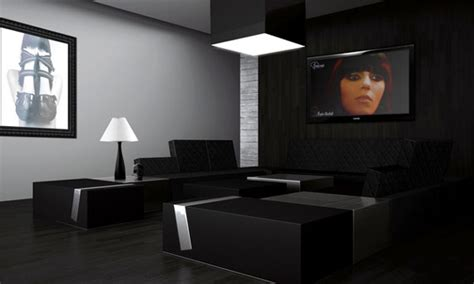 Modern Black Living Room by Modern House Great Designs Of Living Room With Black Color