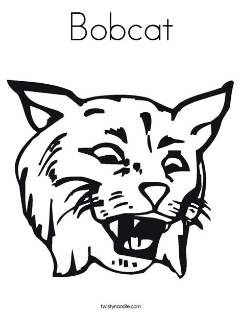 Wild Cat Coloring Page | wildcat coloring pages coloring home