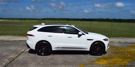 jaguar f pace 2017 jaguar f pace s usa first drive review video and