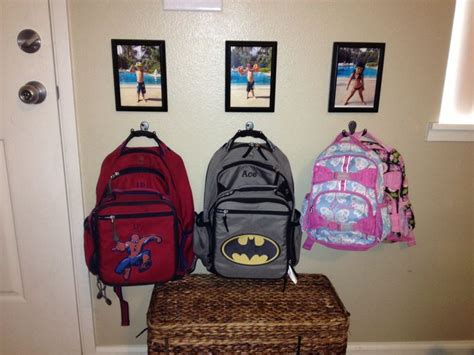 personalized backpack hooks home backpack