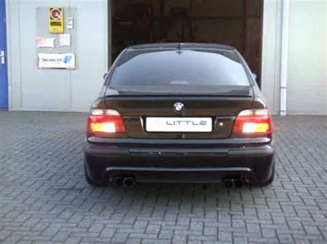 download link youtube: little exhaust® bmw 523 compressor