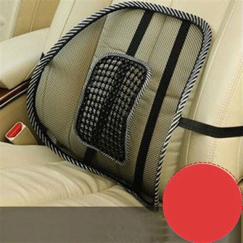 back seat posture corrector mesh lumbar lower back support cushion relief seat