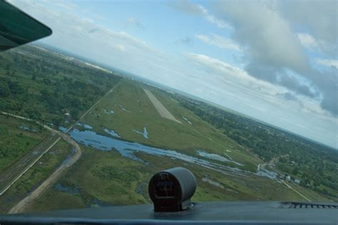 Bahamas Landing Giveaway - flying into haiti aopa