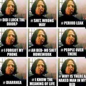 Snape Meme - snape meme laughter is the best medicine pinterest
